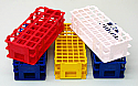 Test Tube Racks Stands Plastic Set of 5