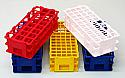 Test Tube Racks Stands Plastic Set of 5