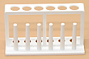 Test Tube Rack Stand Plastic 6 Tubes x 18mm