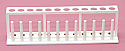 Test Tube Rack Stand Plastic 12 Tubes x 18mm