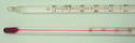 Lab Thermometer Red Alcohol - 10 to 150 C Partial Immersion