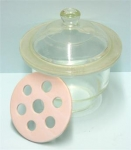 Dessicator Glass with Porcelain Plate 6 Inch / 150mm