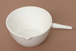 Porcelain Casserole, Basin with handle 125ml