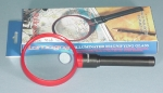 Magnifier Illuminated 2 Inch Dual Mag. 2.5x & 5x