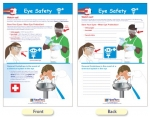 Eye Safety Bulletin Board Chart