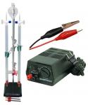 Hoffman Electrolysis Apparatus with Hardware & Power Supply