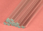 "Glass Stir Rods 8"" pk of 12"