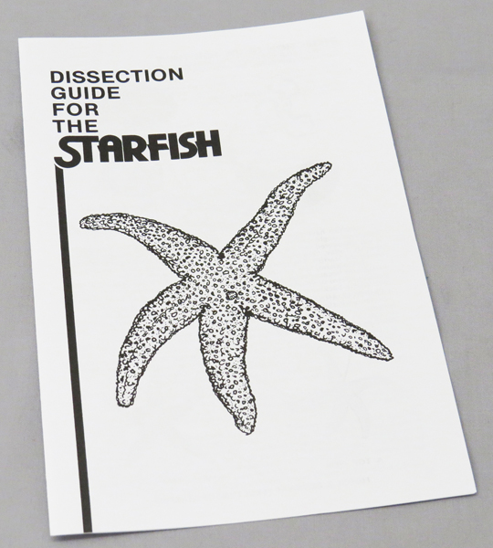 Sea Star Dissection Manual Guide