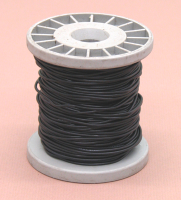 1663 6 Pvc Coated Copper Connecting Hookup Wire 100 Ft Black