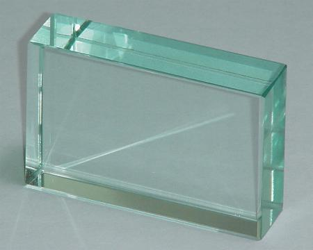 1105 7 Glass Block Rectangular 75 X 50 X 15 Mm