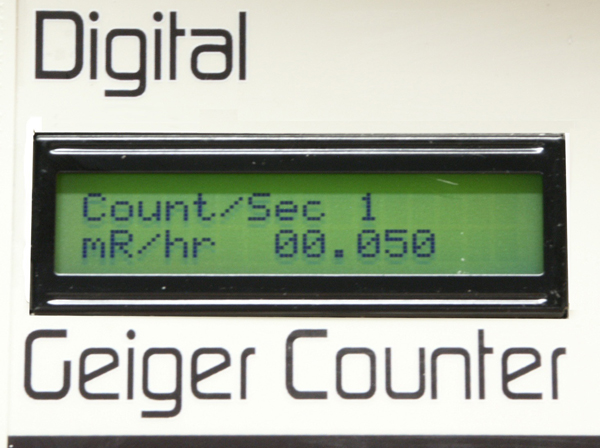 Digital Geiger Counter : Gca w digital geiger counter with internal tube and