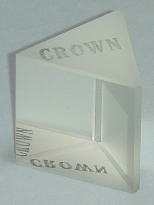 Crown Glass Index Of Refraction