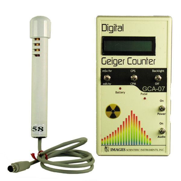 GCA-07W Digital Geiger Counter with Internal Tube and ...