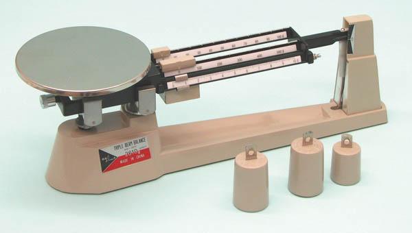 6-004 Triple Beam Balance 2610 gm x 0.1 gm