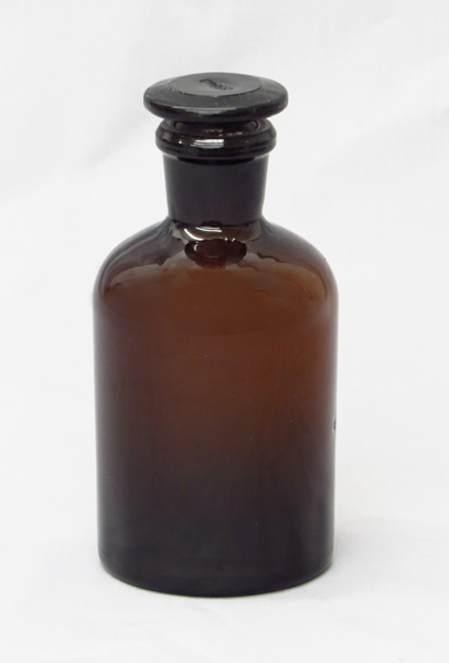 6101 14 Reagent Bottle Amber Glass 250ml