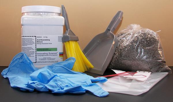 spill kit instruction sheet